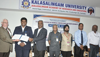 KalasalingamUniversity organized 3 days International Conference on Discrete Mathematics