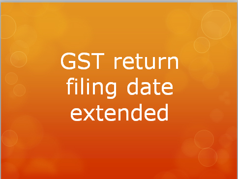 Finance Ministry extends GST return filing date; Check full details here