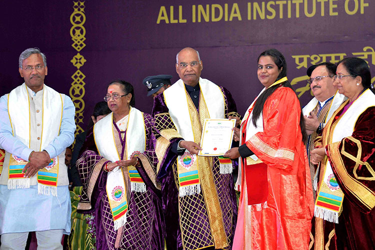 President Kovind addresses first convocation of AIIMS at Rishikesh