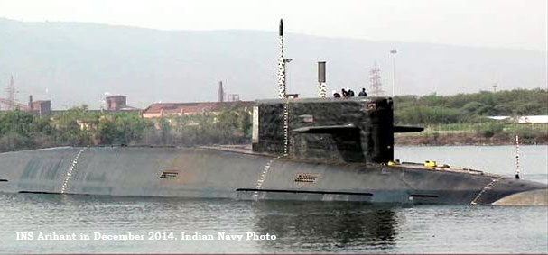 India's first nuclear submarine INS Arihant completes first deterrence patrol