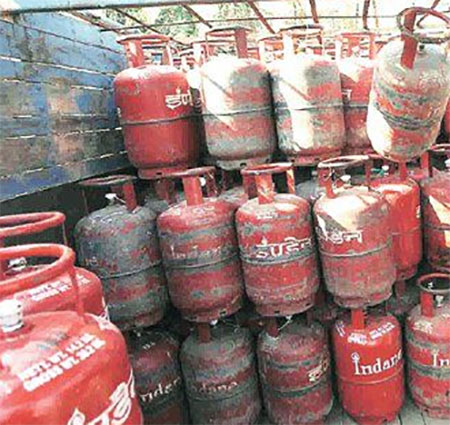 LPG Gas Cylinder prices got hiked by over rupees 16.21 since June cause of GST increased on base price