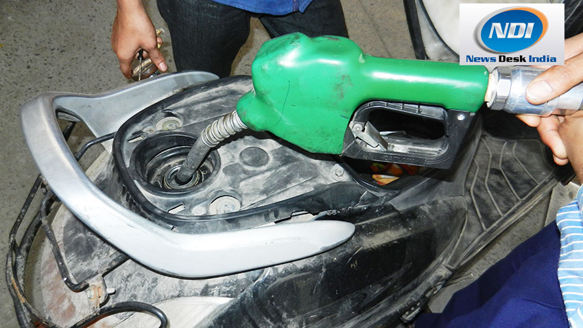 Prices of Petrol and diesel continue remain unchanged since October