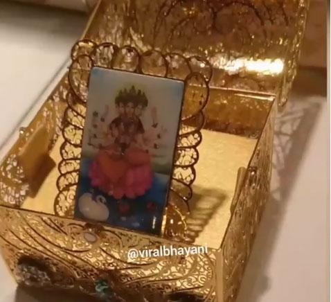Isha Ambani And Anand Piramals Wedding Card Is All About
