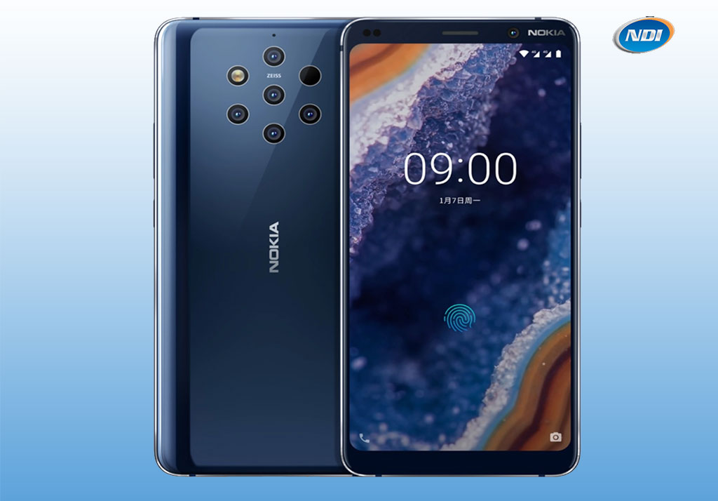 Android One Nokia 9 with 5 rear cameras announced at MWC 2019