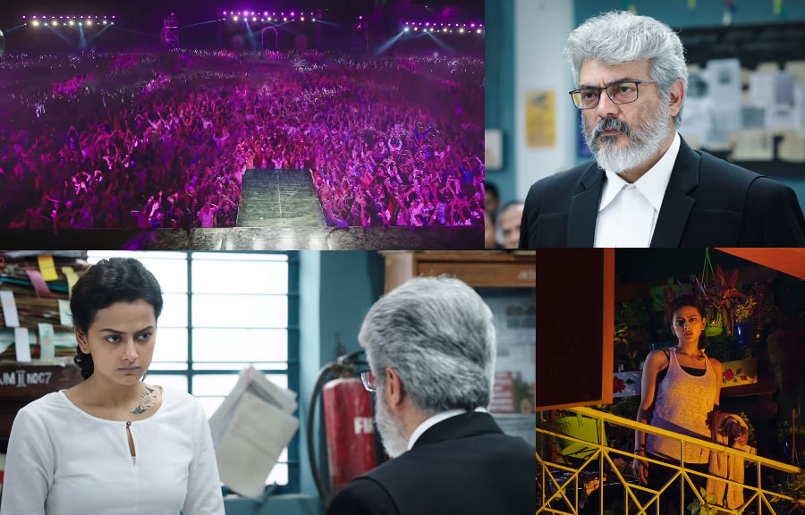 Nerkonda Paarvai box office collection on Day 4 reaches 62 Crores, Huge success in first week