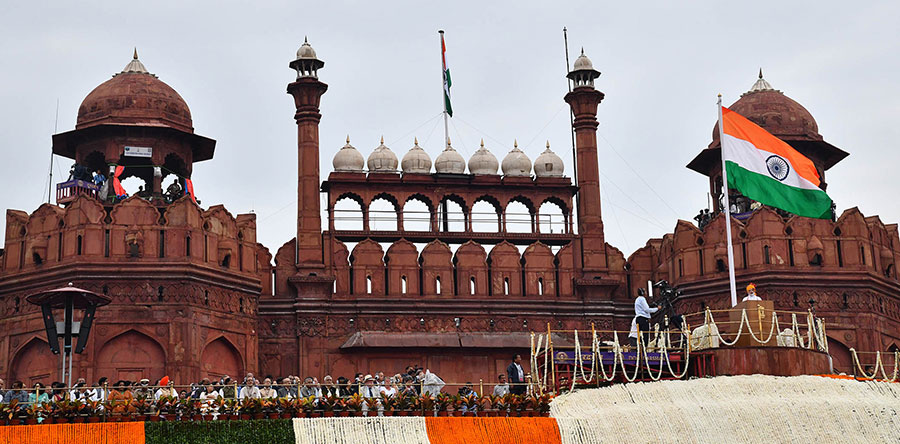 India Celebrates 73rd Independence Day: PM Modi unfurls national flag on Red Fort