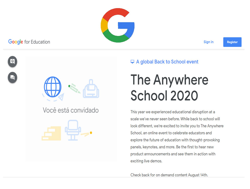 Google online learning application 'The Anywhere School' launched with over 50 new features