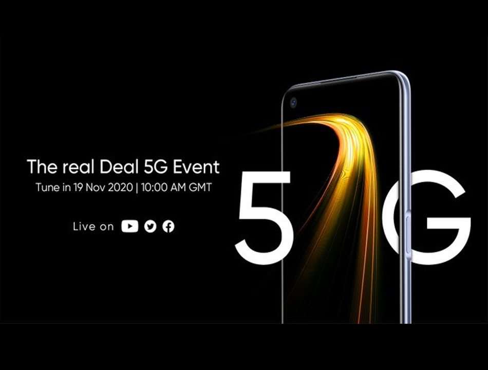 Realme 7 5G to be launched on November 19, Phone to feature a 5,000mAh powerful battery
