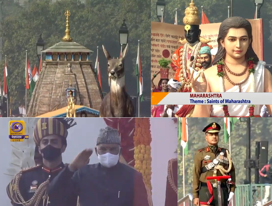 India Celebrates 72nd Republic Day Amid Covid Pandemic in the Country