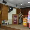An inter university debate orgainsed in Khalsa College