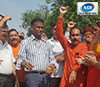 Dr. Udit Raj laid the foundation stone of the road in Rohini Sector 17