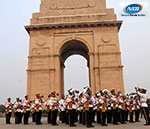 Rashtriya Ekta Diwas Delhi Police organized a march past at India Gate